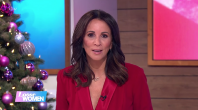 Andrea McLean describes the moment she thought she'd broken her neck on Loose Women