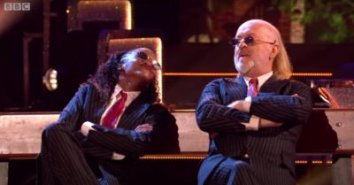 Oti Mabuse and Bill Bailey are a popular pairing on Strictly