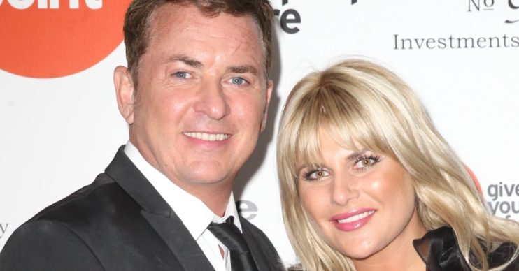 Shane Richie and Christie Goddard