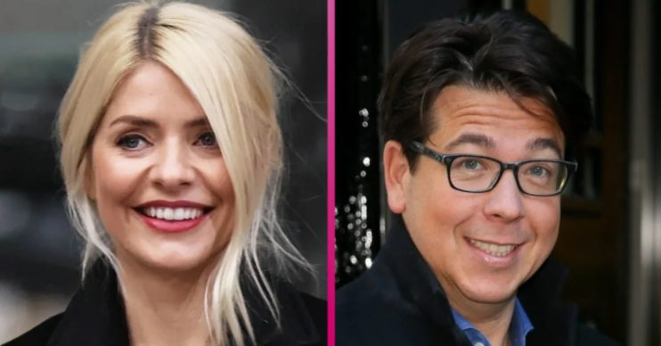 Holly Willoughby fancies a go on Michael McIntyre's new show