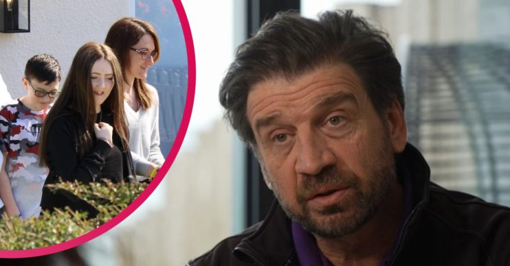 DIY SOS Nick Knowles Weston-super-Mare