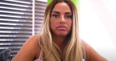 katie price angry