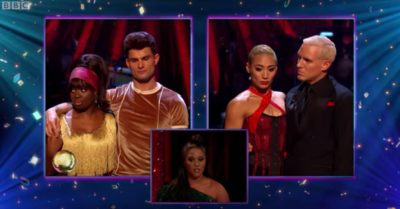 Clara and Aljaz vs Karen and Jamie