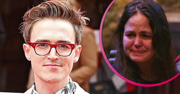 Tom fletcher and Giovanna Fletcher on I'm A Celebrity