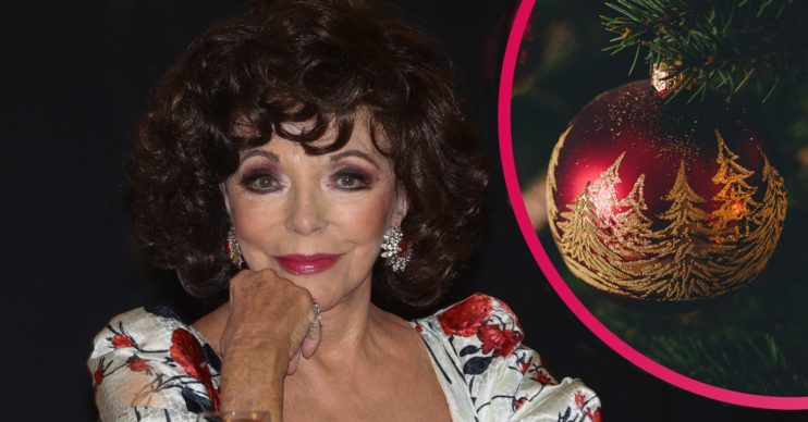 joan collins christmas