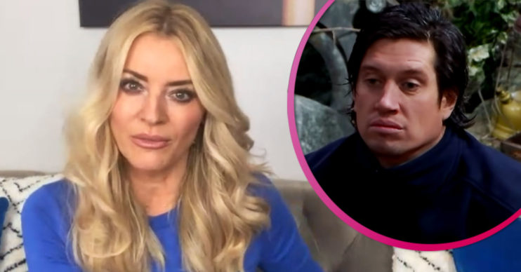Tess Daly on Lorraine - speaking about Vernon Kay on I'm A Celebrity
