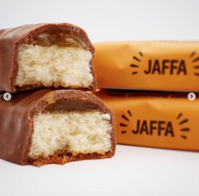 M&S Jaffa cake bars