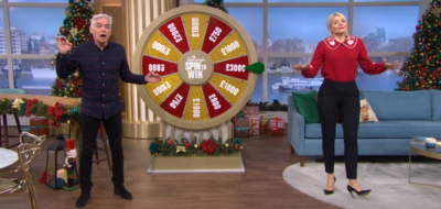 This Morning Spin to Win segment