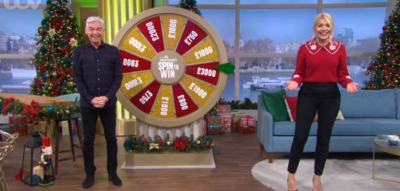 Phillip Schofield during Spin to Win