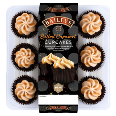 baileys cupcakes in a packet