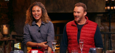 Russell Watson and Jessica Plummer on I'm A Celebrity