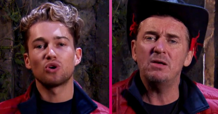 I'm a Celebrity AJ Pritchard and Shane Richie