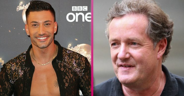 piers morgan giovanni pernice