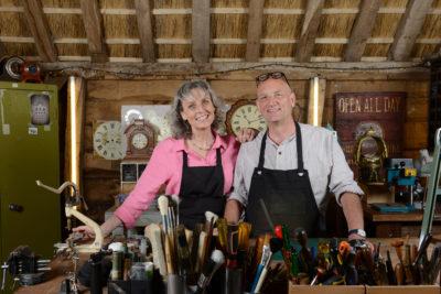 Suzie and Steve Fletcher The Repair Shop