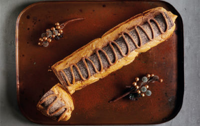 giant chocolate eclair from asda