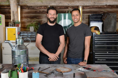 Dominic Chinea and Will Kirk The Repair Shop BBC One