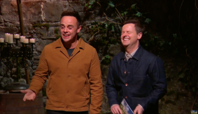 ant and dec on I'm a celeb