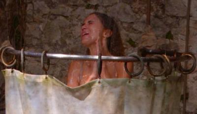 jessica plummer shower i'm a celebrity