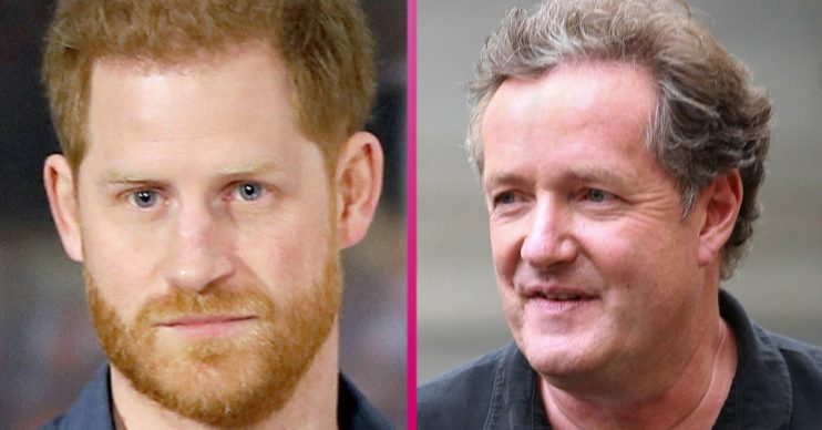 piers morgan and prince harry