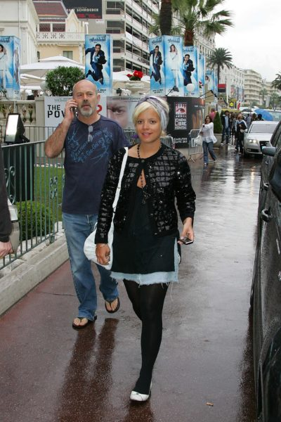Keith Allen with daughter Lily Allen
