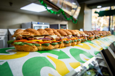 subway giant pigs in blanket sub