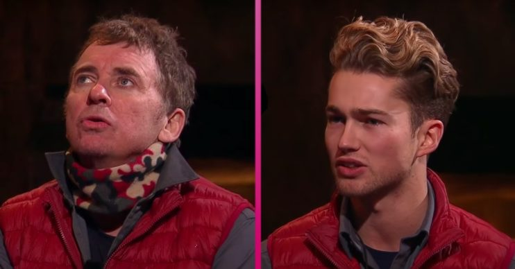 Shane Richie and AJ Pritchard clashed on IAC