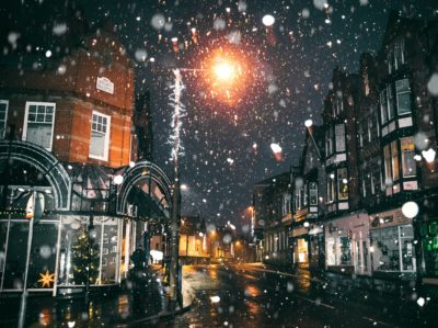 Odds slashed for white christmas in the UK