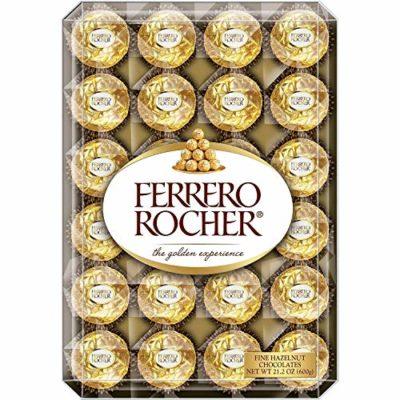 box of Ferrero rocher