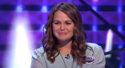 I'm A Celebrity star Giovanna Fletcher once appeared on Family Fortunes with Vernon Kay