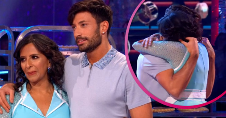 Strictly stars Ranvir and Giovanni