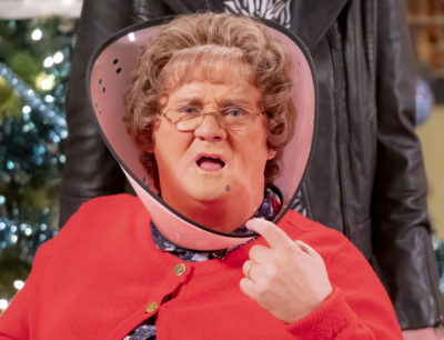 Mrs Brown's Boys returns for a Halloween special on BBC One
