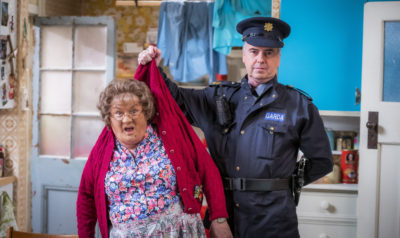 Mrs Brown in trouble with the police