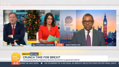 James Cleverly on Good Morning Britain