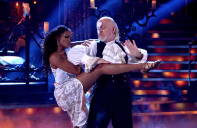 Bill Bailey and Oti Mabuse Strictly