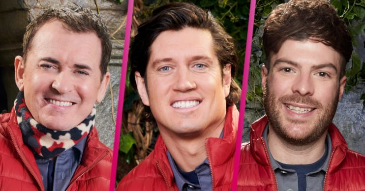I'm A Celebrity Shane Richie Vernon Kay Jordan North road trip show