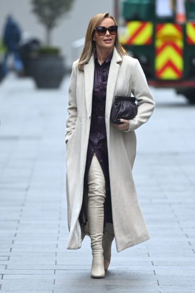 Amanda holden in thigh-high boots