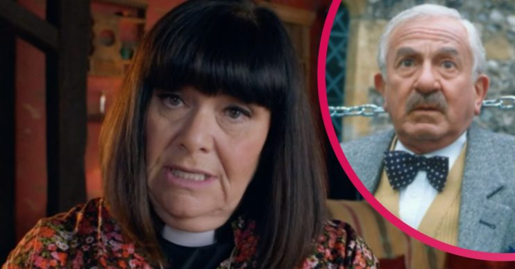 dawn french on vicar of dibley in lockdown