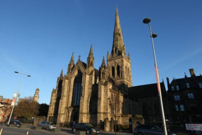 Salford Cathedral let its bells ring for Coronation Street