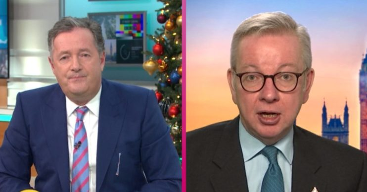 Good Morning Britain viewers divided as 'defensive' Piers Morgan 'rips into' MP Michael Gove