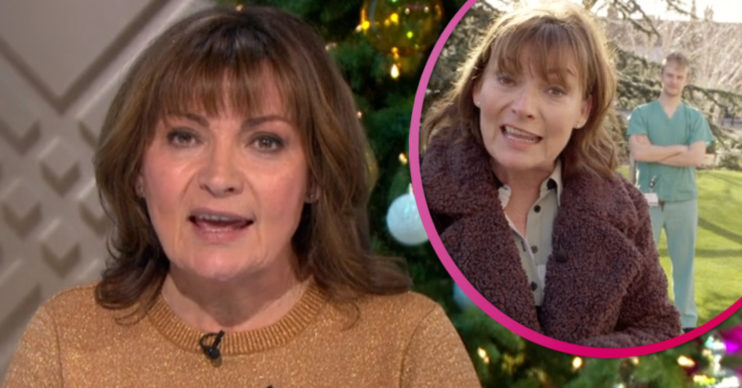 Lorraine Kelly talks her accident on the show