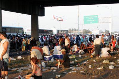 Hurricane Katrina devastation