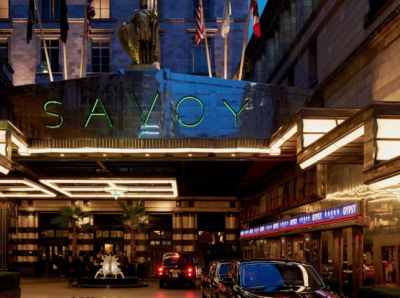 The Savoy At Christmas