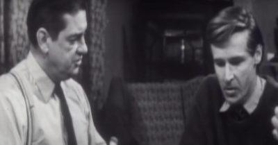 Ken Barlow's first scene in Coronation Street