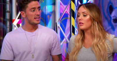 Stephen Bear once dated Charlotte Crosby