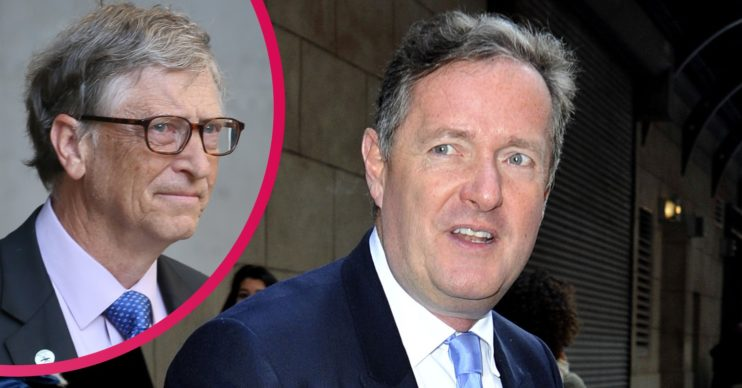 Piers Morgan vaccine Bill Gates
