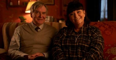 James Fleet and Dawn French in The Vicar of Dibley
