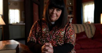 Dawn French as Geraldine in The Vicar of Dibley