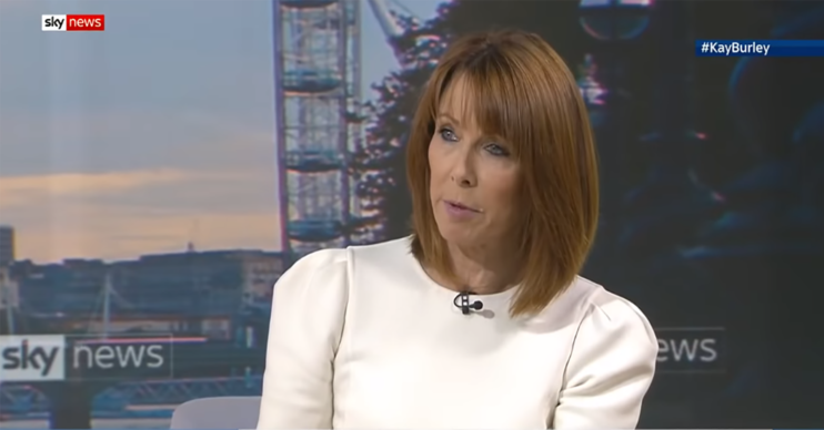 Kay Burley on Sky News