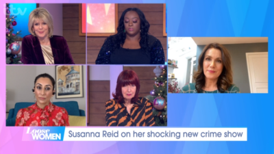 Susanna Reid speaking about her death row documentary on Loose Women