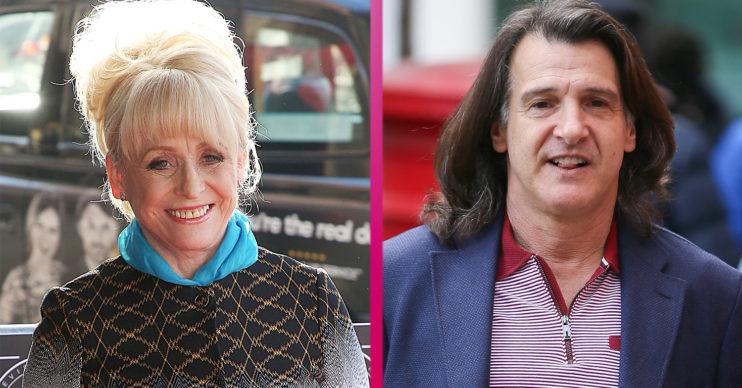 Dame Barbara Windsor EastEnders and Scott Mitchell